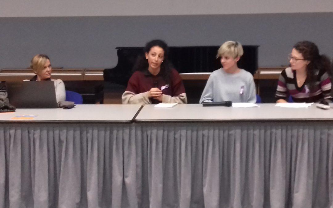 """""""Stili di vita e condizionamenti etico-sociali"""", l'intervento di Alessia Scaini, Camilla Castellano e Camilla Pereno al Berti!"""
