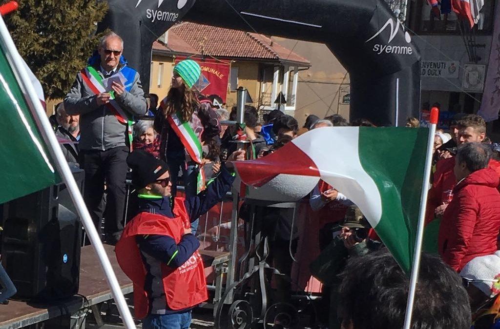 La musica della Desamband accoglie la fiaccola dello Special Olympic Italia!