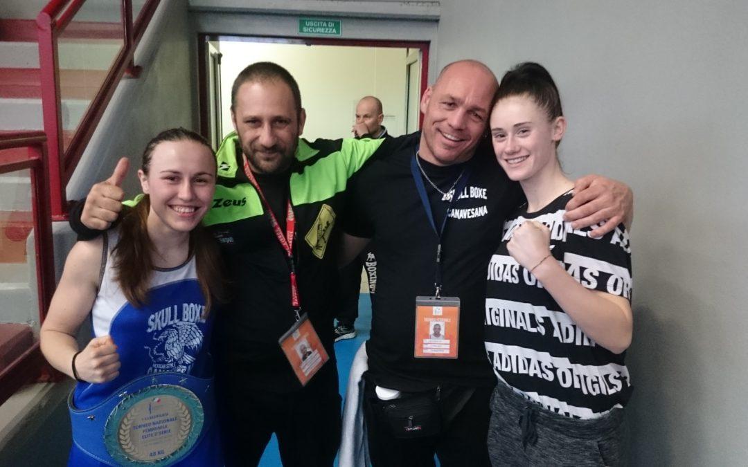 Mandiamo al tappeto i tabù, con le nostre campionesse italiane di pugilato!!
