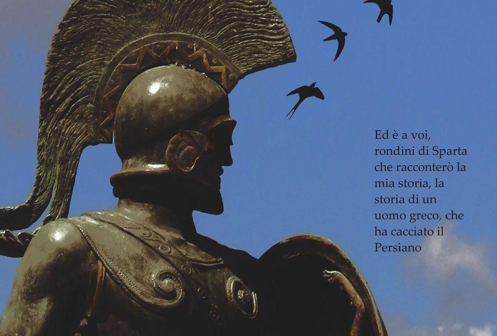 Simone Siviero presenta il suo libro 'Le rondini di Sparta', nella biblioteca del Des Ambrois!