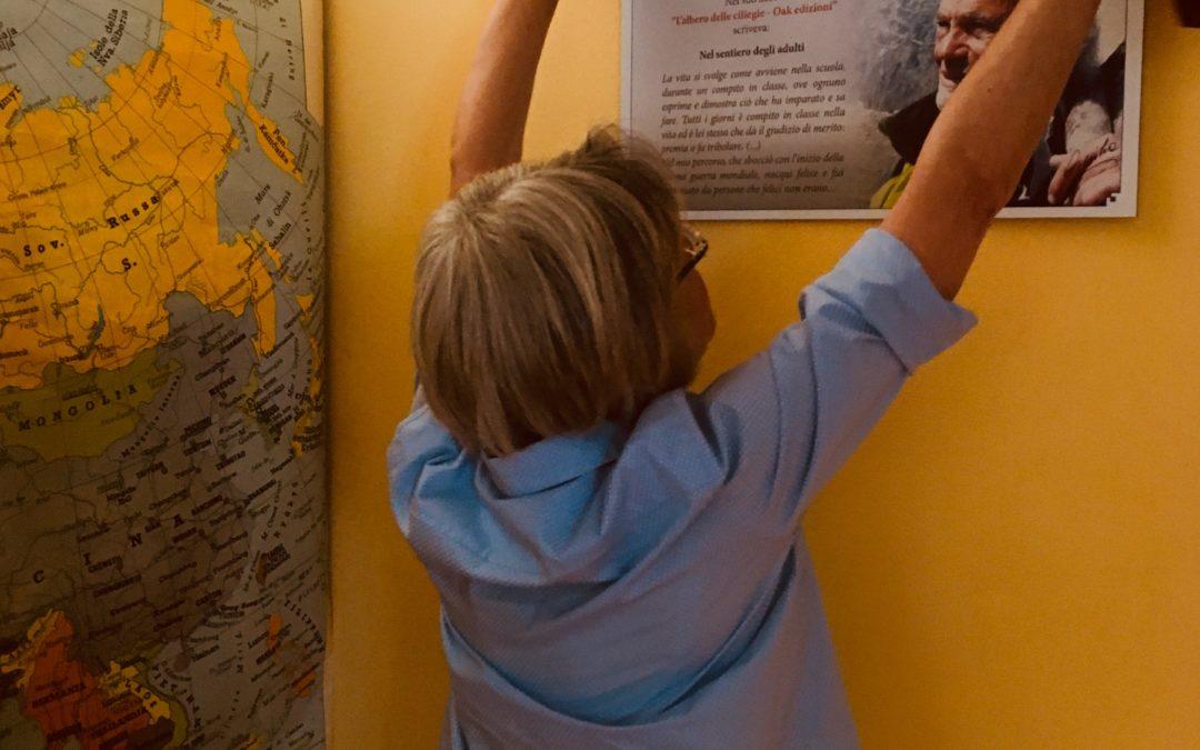 Inaugurata nella biblioteca di Jordi la targa in ricordo dell'alpinista Giancarlo Piubelli!