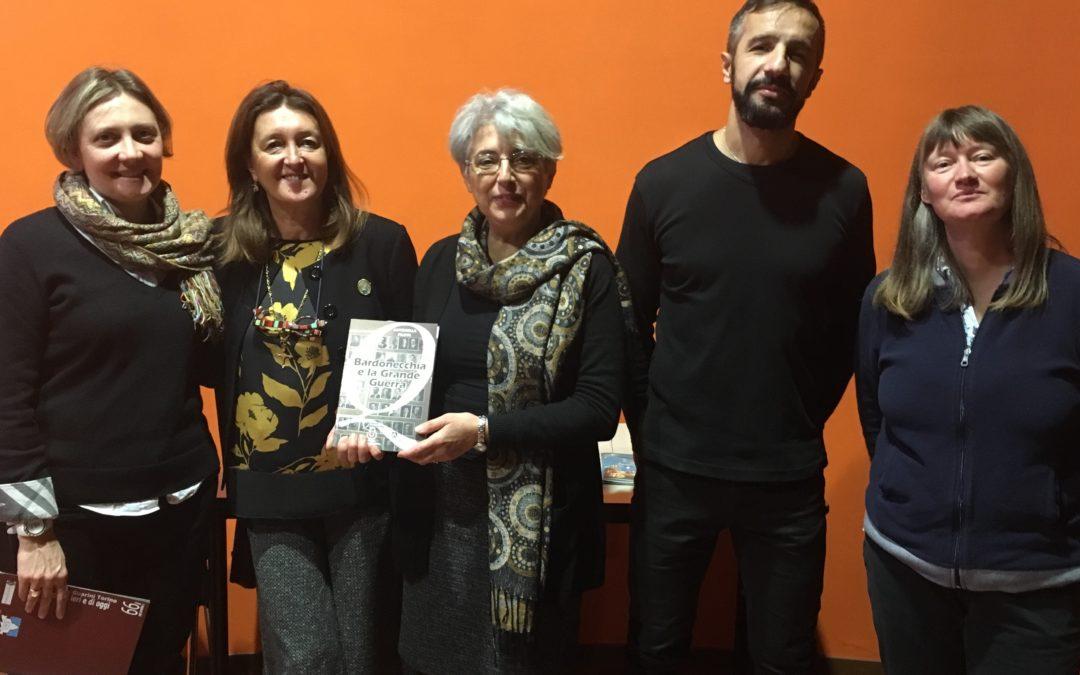 Proiettato 'Fango e gloria' e presentato il libro-testimonianza di Antonella Filippi in ricordo dei 100 anni dalla Grande Guerra!