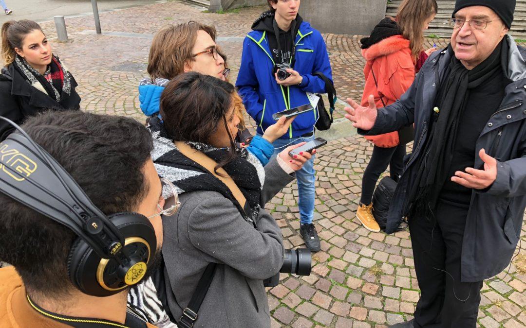 Audiodoc della visita degli studenti della 5AM Multimediale al Mau – Museo di Arte Urbana di Torino.