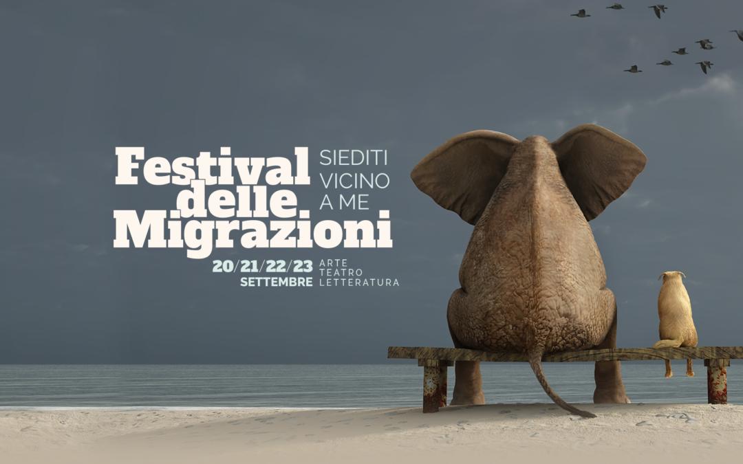 """Per il festival delle migrazioni """"Siediti vicino a me"""" sabato 1 dicembre!"""