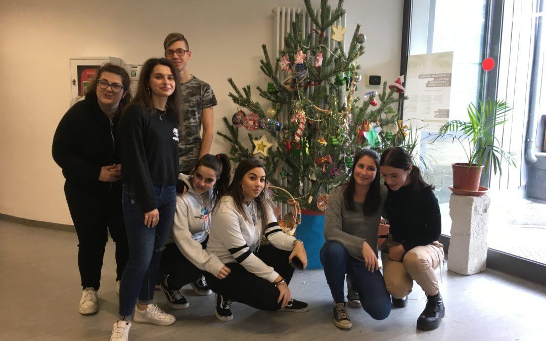 Grazie al Consorzio Forestale Alta Valle per l'albero di Natale!