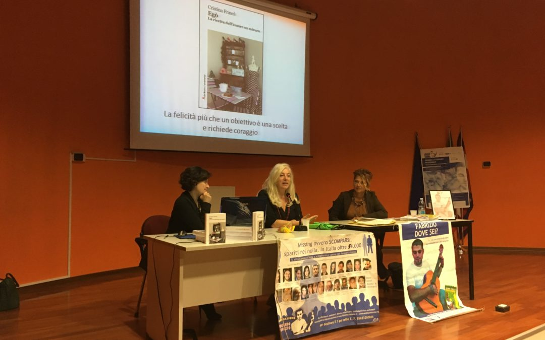 Caterina Catalano e Cristina Frascà insieme per parlare del fenomeno degli scomparsi, 53000 solo in Italia!