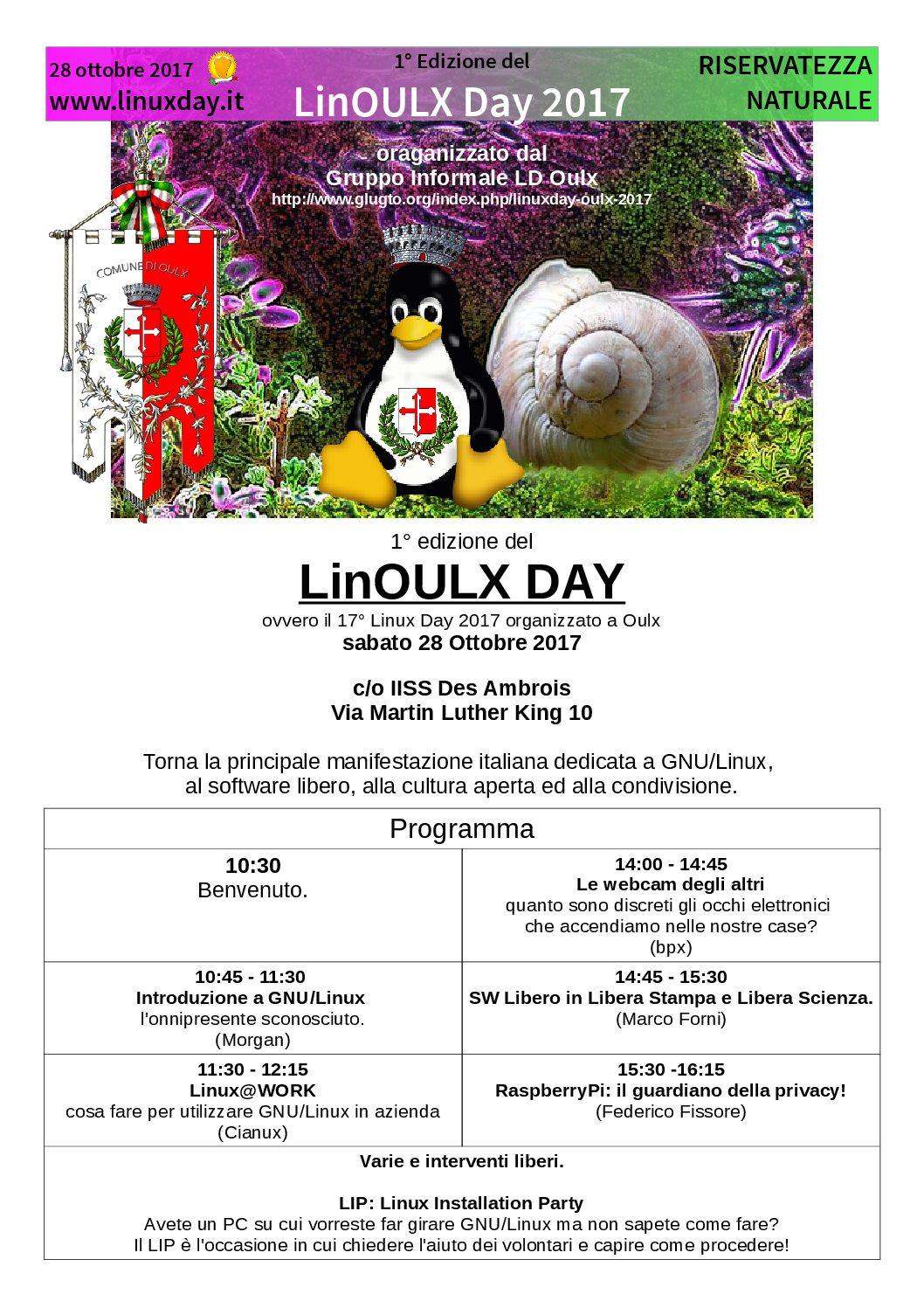 LinOULX DAY
