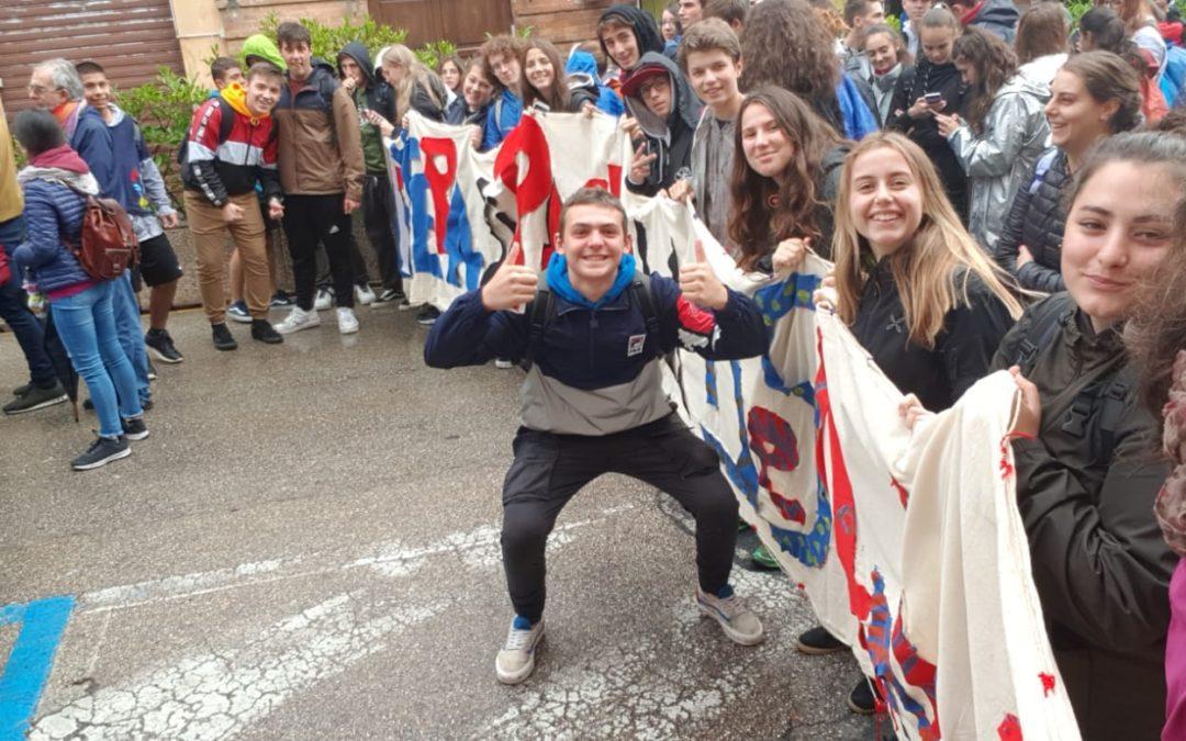 L' I.I.S.S. Des Ambrois manda una lettera di pace ad Assisi