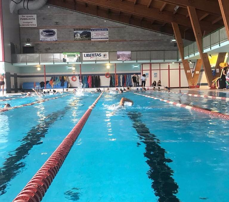 Iniziati anche per il biennio i moduli in piscina