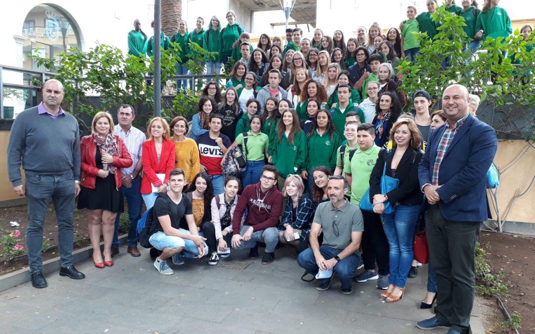 """Il Des Ambrois a Tenerife per il secondo incontro del progetto Erasmus+ """"Fight for Tolerance""""!"""