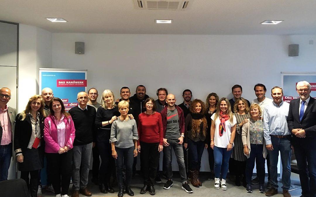 Il Des Ambrois in Germania per il progetto Erasmus+ EROVET.