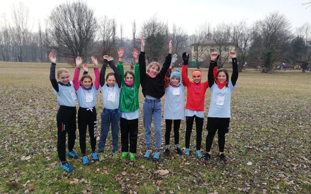 Finali provinciali di corsa campestre: bravissime le ragazze/cadette delle medie del Des Ambrois