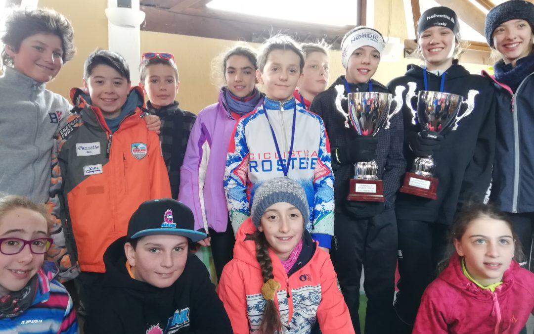 Campionati studenteschi provinciali: podio per i ragazzi e le ragazze delle medie del Des Ambrois